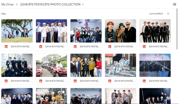2018 BTS FESTA] BTS PHOTO COLLECTION – BTS IN BLOOM